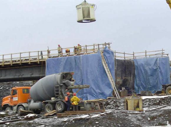 Тент для опалубки и бетона: для утепления и защиты зданий